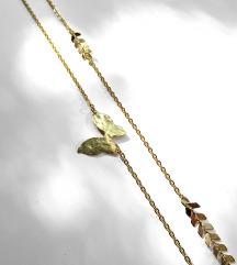 Mjedena ogrlica FLEUR
