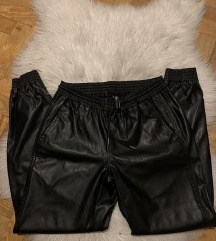 Zara kožne hlače XS novo