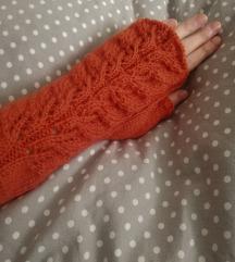 PUMPKIN SPICE ručno pletene rukavice