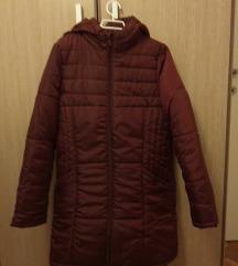 Ženska jakna nova tamno crvena, zimska
