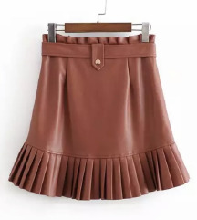 NOVA Kožna suknja Like ZARA
