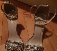 Zlatne sandale br.40