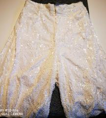 Zara sequin culottes