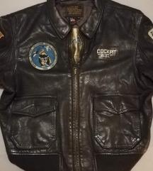ORIGINAL Cockpit kožna pilotska jakna G-1