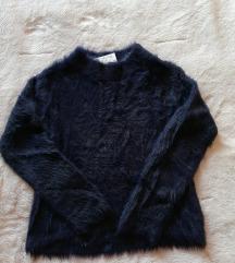 Novo! H&M čupavi pulover, 146/152