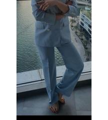MOJA SLIKA / ZARA svijetlo plavo odijelo