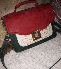 NOVA crveno zelena torba