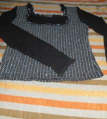 Majica-til,čipka,šljokice xs/s