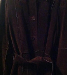 STRADIVARIUS gamoš kožni smeđi kaput