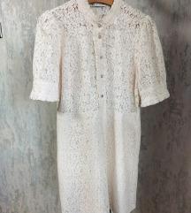 Zara čipka haljina