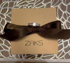 Zaks srebrni zaručnički prsten