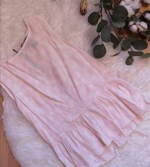 Roza peplum bluza
