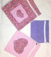 Kozmetičke pamučne torbice