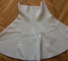 Zara bijela suknjica