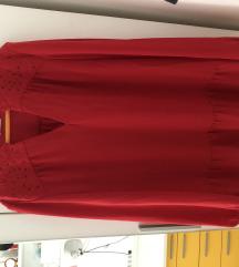 Lagana prozračna crvena bluza