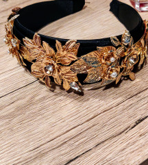 Zlatni rajf /gold headband NOVO