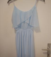 Plava haljina S