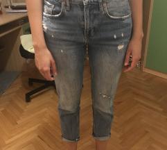 Jeans hlače Zara slim bagy