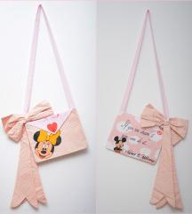 💗 Minnie Mouse pismo torbica (ručni rad) 🍭
