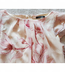 Orsay duga roza cvjetna haljina kao nova