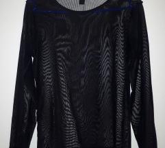 Crna prozirna majica