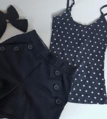 LOT 👉 kratke hlače i majica sa točkicama