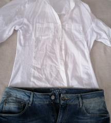 Lot košulja i traper suknja
