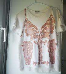 Zara majica sa leptirom