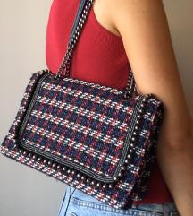 Zara torbica od tvida