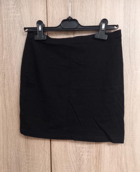 Crna mini suknja 2*