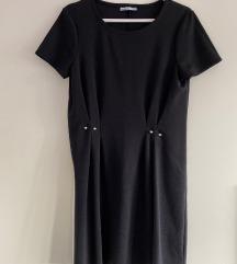 Zara crna haljina M