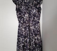 H&M midi haljina s uzorkom