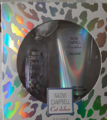 Naomi Campbell Cat deluxe silver set
