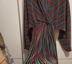 110kn %Plisirana šarena haljina
