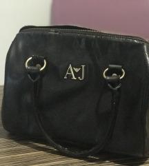 Armani Jeans crna torba