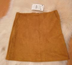 Camel suknja