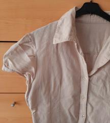 vintage safari košulja bluza