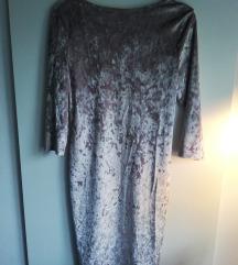 ASOS plišana haljina