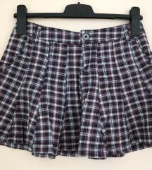 34 36 Mango kratka karirana ljetna suknja