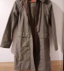Maslinasta duga jakna