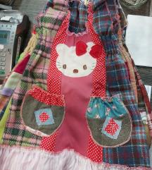 Dječja haljina s etiketom! Ručni rad!