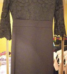 Nova crna haljina gratis najlonke