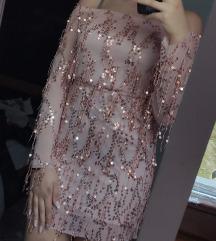 Svečana haljina sa šljokicama