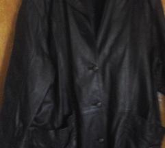 Crna kožna jakna vel. 44