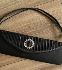 Svečana crna torbica
