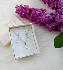 Komplet ogrlica i naušnice (više slika)