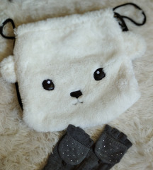 Božićni ruksak i rukavice