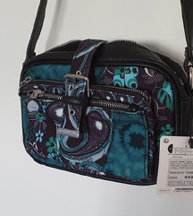Nova Desigual zelena torba-s etiketom