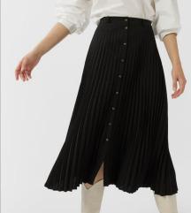 Stradivarius plisirana suknja