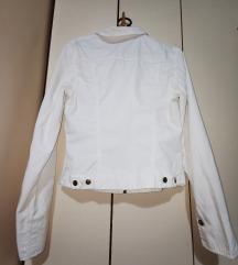 Bijela traper jaknica